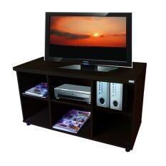 ซื้อ ชั้นวางทีวี แกนเน็ท อเนกประสงค์ 6ช่อง ขนาด100X40X57Cm สีโอ๊ค ใหม่ล่าสุด