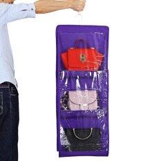 ราคา 6 กระเป๋าแขวนตู้เสื้อผ้ากระเป๋าถือกระเป๋าเก็บของ ถูก