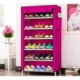 ขาย ซื้อ ออนไลน์ ชั้นวางรองเท้า ตู้เก็บรองเท้า ตู้ใส่รองเท้า 6 ชั้น Shoes Rack จำนวน 21 คู่