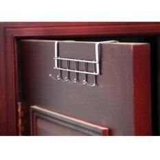 ซื้อ ที่แขวนของหลังบานประตู 6 ตะขอ Stainless Steel 304 ยาว 40 ซม ออนไลน์ กรุงเทพมหานคร