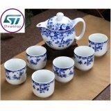 ขาย ซื้อ ชุดชงชากระเบื้อง ลายดอก พร้อมถ้วยชา 6 ใบ พร้อมกล่องบรรจุถ้วยชา รุ่น Tc01 ใน กรุงเทพมหานคร