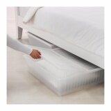 ขาย กล่องเก็บของใต้เตียง ขาว ขนาด 65X70 ซม ถูก