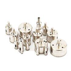 ทบทวน ที่สุด 6Mm 50Mm Diamond Coated Marble Ceramic Tile Hole Saw Drill Bits Set Of 16