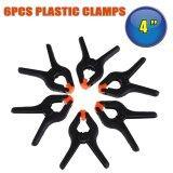 ขาย 6Pcs Diy Tools 4 Inch Black Plastic Nylon Spring Clamps Set For Paper Photo Backdrop Background Woodworking Clamps Grampo D3370 Intl ใน จีน