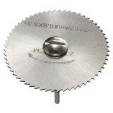 6Pcs Hss Rotary Tool Circular Saw Blades Cutting Discs Wheel Cutoff 1 Mandrel จีน