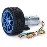 6V 210Rpm Encoder Motor Dc Gear Motor Intl เป็นต้นฉบับ