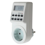 ซื้อ 7 Day Digital Lcd Electronic Plug In Programmable 12 24 Hour Timer Switch ถูก ใน จีน