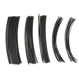 ส่วนลด 70Pcs 7 Color Black Polyolefin Halogen Free Heat Shrink Tubing Shrinkable Tube Sleeving Wrap Wire Cable Kit Shrink Ratio 2 1 �1 �5 0Mm Intl