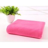 ราคา 70X140Cm Microfiber Absorbent Drying Bath Beach Towels Washcloth Swimwear Shower Dark Pink Intl Unbranded Generic