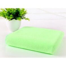 ราคา 70X140Cm Microfiber Absorbent Drying Bath Beach Towels Washcloth Swimwear Shower Light Green Intl ราคาถูกที่สุด