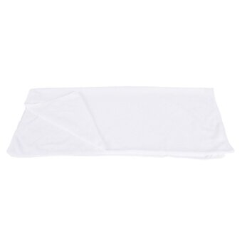 70x140cm Super Thin Absorbent Microfiber Drying Bath Beach Towel Swimwear Shower White 70*140cm - intl