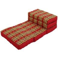 โปรโมชั่น ที่นอนนุ่น ที่นอนปิ๊คนิค ที่นอนพับเก็บได้ ขนาด 70X8X170 175 ซม สีแดง