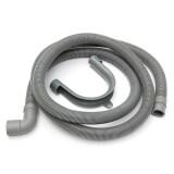 ราคา 78 7 Length Flexible Elbow Drain Hose With Bracket For Washer Washing Machine Intl ถูก
