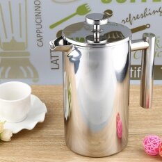 800Ml Stainless Steel Cafetiere French Press With Filter Double Wall Intl Unbranded Generic ถูก ใน จีน
