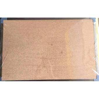 กระดานไม้ก๊อก 80x120 ซม**แถมหมุดติดบอร์ด