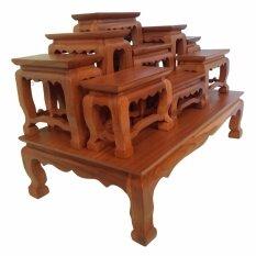 ขาย โต๊ะบูชาพระไม้สัก หมู่ 9 หน้า 3