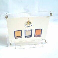 ซื้อ ชุดแสตมป์ เงิน ทอง นากรุ่นกาญจนาภิเษก ร 9 กรอบรูปอะคริลิค Goods24 ออนไลน์