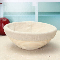 ซื้อ 22 86ซมรอบตะกร้าขนมปัง Brotform Banneton พิสูจน์พิสูจน์อักษรอิสระพี พีใหม่ Intl ถูก แองโกลา