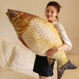 โปรโมชั่น 95Cm Simulation Fish Plush Toy Doll Size Bed Pillow Doll Fish Intl