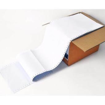 กระดาษต่อเนื่องไม่มีเส้น 9x11