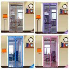 A ม่านประตูกันยุงใช้แทนมุ้งลวดได้ กว้าง100 210 ซม พิมลายแสนหวาน ชมพู เป็นต้นฉบับ