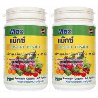 NP MAX เอ็นพี แม็กซ์ แร่ธาตุอาหารรองพืชA-Zกว่า60 ชนิดจากประเทศอเมริกา เร่งผล ผลดก พืชโตดี ใช้แทนปุ๋ยเคมี Organic Pack2 เกษตรอินทรีย์ 1000 g NP organic garden