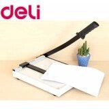 ราคา แท่นเหล็กตัดกระดาษขนาดA4 300X250 Mm ยี่ห้อ Deli รุ่น Dl 8014 Deli เป็นต้นฉบับ