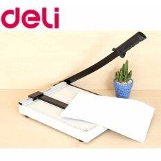 ซื้อ แท่นเหล็กตัดกระดาษขนาดA4 300X250 Mm ยี่ห้อ Deli รุ่น Dl 8014 ถูก