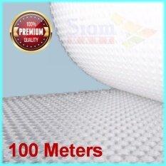 Abb บับเบิ้ลกันกระแทก พลาสติกกันกระแทก พลาสติกห่อหุ้มของ แอร์บับเบิ้ล Air Bubble ขนาด 65 ซม. ความยาว 100 เมตร By Siam Mart.