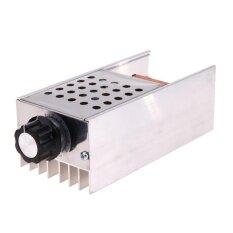 ขาย Ac 220V 6Kw Scr Voltage Regulator Motor Speed Controller Dimmer Thermostat Intl ใน จีน