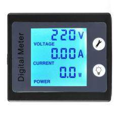 Ac 80 260V 100A Voltmeter Ammeter Energy Meter Current Voltage Power Monitor Lcd Digital Display ใน Thailand