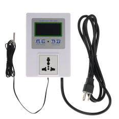 ซื้อ Ac110 240V 10A Lcd Digital Intelligent Pre Wired Temperature Controller Outlet With Sensor Thermostat Heating Cooling Control Switch Intl Unbranded Generic