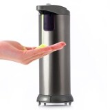 ส่วนลด Ad 02C 280Ml Automatic Stainless Steel Sensor Soap Sanitizer Dispenser Touch Free For Kitchen Bathroom Unbranded Generic ใน Thailand