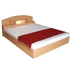 ซื้อ Add เตียงนอนหัวโค้งพร้อมที่นอนสปริงลอนดอน ขนาด 5 ฟุต รุ่น Bcl 501สีบีช Add ออนไลน์