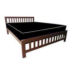 Addhome เตียงเหล็กกล่อง พร้อมที่นอนใยยางหุ้ม Pvc ขนาด 5 ฟุต รุ่น Pvcextra 5 สีน้ำตาล กรุงเทพมหานคร