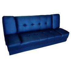 Addhome โซฟาปรับนอน 3 ที่นั่ง หุ้มหนัง Pvc รุ่น Sf 3 สีน้ำเงิน 511 เป็นต้นฉบับ