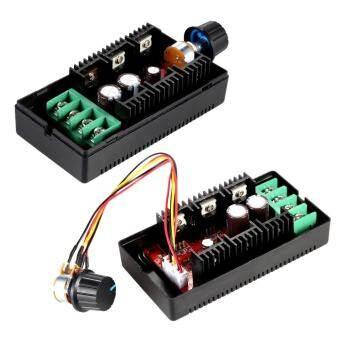 Adjustable 10-50V/40A/2000W DC Motor Speed Control PWM HHO RC Controller 12V 24V 36V 40V 50V Speed Adjuster - intl