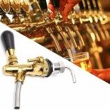 ทบทวน ที่สุด Adjustable Draft Beer Faucet G5 8 Shank W Chrome Gold Plating For Kegerator Tap Intl