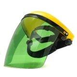 ทบทวน Adjustable Welding Helmet Arc Tig Mig Welder Lens Grinding Mask Safety Goggles Yellow Cover Pc Light Green Screen Intl