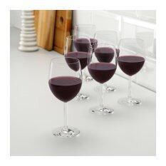 ซื้อ แก้วไวน์แดง แก้วใส 6 ชิ้น Me Time ออนไลน์