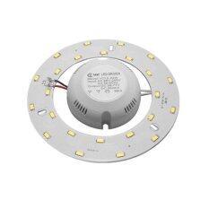 ทบทวน ที่สุด แผงไฟ Led โคมซาลาเปา 18 วัตต์ แสงเดย์ไลท์ รุ่นใหม่ไม่ต้องใช้ไดร์เวอร์