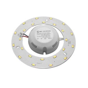 แผงไฟLEDโคมซาลาเปา15วัตต์ แสงเดย์ไลท์ รุ่นใหม่ไม่ต้องใช้ไดร์เวอร์