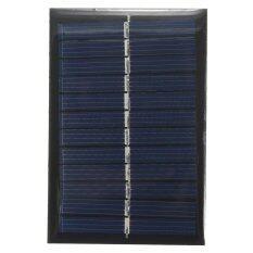 ราคา แผงโซล่าเซลล์ 6V 1W Solar Power Panel Poly Module Diy ใหม่