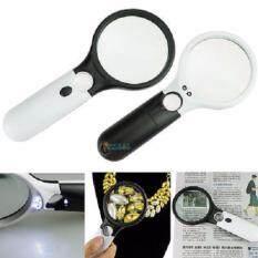 ทบทวน ที่สุด แว่นขยาย Hand Hold 2 Led Detachable Type Magnifier No 6902Ab
