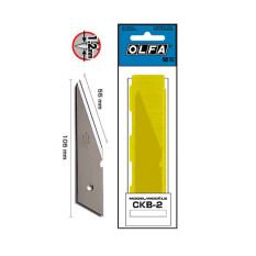 ซื้อ ใบมีดคัตเตอร์ สำหรับคัตเตอร์ Ck 2 รุ่น Ckb 2 Olfa ถูก