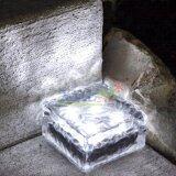 ส่วนลด สินค้า ไฟก้อนน้ำเเข็ง โซล่าเซลล์ 4 Led แสง ขาว 1 ชิ้น