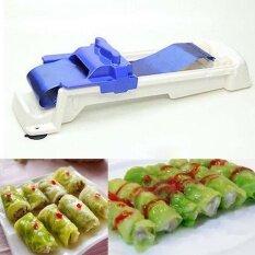 Akerfush ซูชิพลาสติก Roller ผักเนื้อเครื่องม้วนห้องครัวองุ่นกะหล่ำปลี Leaf Rolling Tool - Intl By Aikeerfushi.