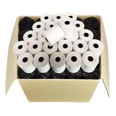 ราคา กระดาษความร้อน ปริ้นใบเสร็จอย่างย่อ 57 X 50 Mm แพค 100 ม้วน Tp 500 ราคาถูกที่สุด