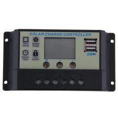 ขาย Allwin ควบคุมค่าพลังงาน 20 Amps 12โวลต์ 24โวลต์ชาร์จแบตเตอรี่ควบคุม Tx 20Al สีดำ ผู้ค้าส่ง