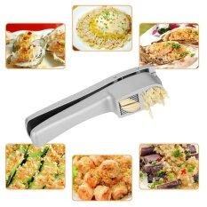ราคา Aluminum Alloy Manual Hand Squeeze Garlic Press Slicer Crush Kitchen Tool Intl เป็นต้นฉบับ